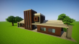 Small town library Minecraft Map & Project