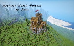 Medieval Guard Outpost Minecraft Project