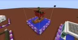 One Chunk Viking Ship Minecraft Project