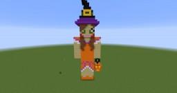Burning Jen (Halloween) Minecraft Project