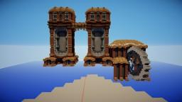 Steampunk Megabuild - Project Minecraft - by Smaqi Architecte Minecraft Project