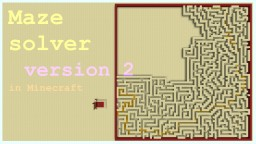 Maze solver version 2 Minecraft