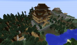 RP-Stand Alone Shengbaó Castle / Age of Empires II Fareast-Castle Minecraft Project