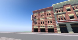 American typical building Minecraft Project