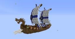 Viking Long Boat / Drakkar II Minecraft Project
