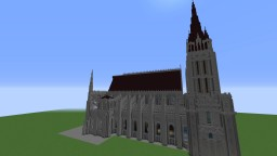 St Denis basilica Minecraft Project