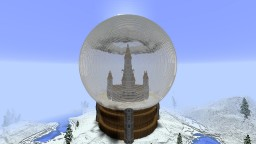 Sky piercer Snow Globe BUILD CONTEST! Minecraft Project