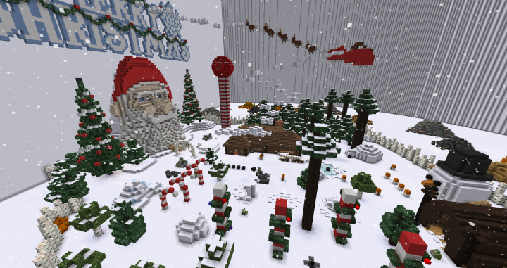 Block Hunt Hide and Seek Map - Northpole