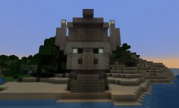 Easter Island-ish Villager Statue !!Schematic Download!! Minecraft Map & Project
