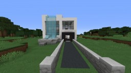 modern house for survival Minecraft Project