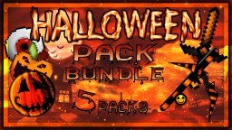 HALLOWEEN SPECIAL PACK BUNDLE 2017 (5 PACKS!) Minecraft Texture Pack