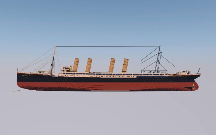 SS Kaiser Wilhelm der Grosses progress 10.1