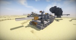 Main Battle Tank Minecraft Map & Project