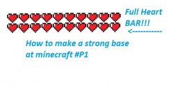 How To Make A STRONG BASE At Minecraft   - Part 1 of 2 Minecraft Blog Post