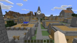 Clock Tower City Minecraft Map & Project