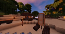 Jungle Beach Bar Minecraft Project