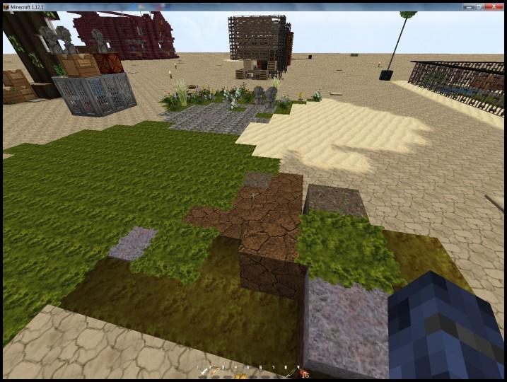 Grass and Sand overlays