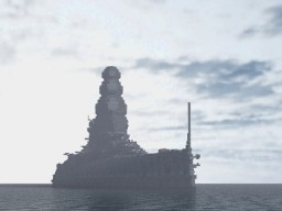 Disraeli Class Battle ship Minecraft Map & Project