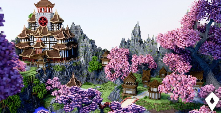 the japanese garden minecraft project - Minecraft Japanese Tree
