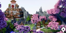 The Japanese Garden Minecraft Map & Project