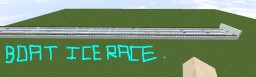 Ice Boat Racing 1v1v1 3 players Minecraft Project