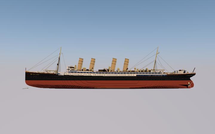 SS Kaiser Wilhelm der Grosses progress 10.16