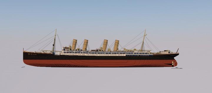 SS Kaiser Wilhelm der Grosses progress 10.21