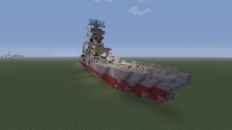 NKM Raika Battleship bathtub build Minecraft