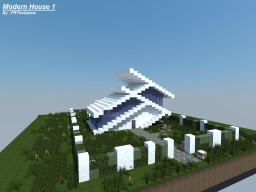 Modern House 1 Minecraft Project