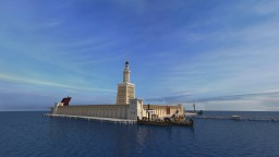 Wonders of the World - Lighthouse of Alexandria Minecraft Project