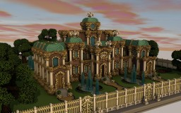 Whitecrow - The Baroque Palace Minecraft Map & Project