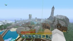 Hempshire Castle and Town - Large PS4 Survival Build Minecraft Map & Project