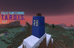 Fully functional TARDIS Minecraft Project