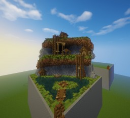 Mining themed plot Minecraft Map & Project