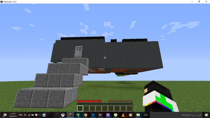 Custom map i make the map Minecraft Project