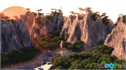FREE - Tropical Asia 1kx1k Tropical Custom terrain -FREE Minecraft Project
