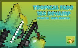 TROPICAL FADE 2.0 PVP PACK! [FPS+] [SMOOTHER GAME] [SHORT SWORDS] Minecraft Texture Pack