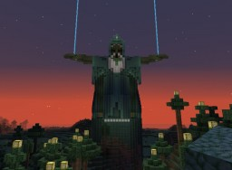 Wizard Statue !!SCHEMATIC DOWNLOAD!! Minecraft Project