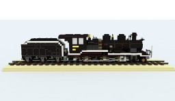 Japan Locomotive 8620 (4:1) Minecraft Map & Project