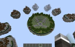 Skywars Map- Secret Garden Minecraft Map & Project