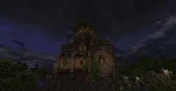 medieval keep / magic school Minecraft