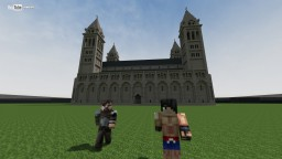 Pécs, Basilica Minecraft Map & Project