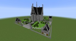 75 x 75 Faction Spawn Minecraft Map & Project