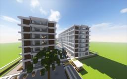 Nocturl Condominium| A Modern Condominium Minecraft Project