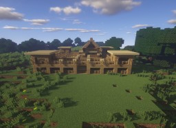 Four-Person Survival Base Minecraft Project