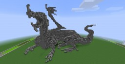 Color Your own Dragon! (Downloadable statue) Minecraft Project
