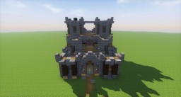 One Chunk Castle Minecraft