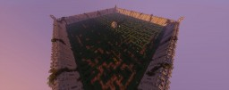 110x110 Detailed Hedge Maze Minecraft Map & Project