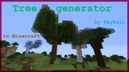 Minecraft tree generator Minecraft Project