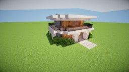 SM-Modern-House-12 Minecraft Project